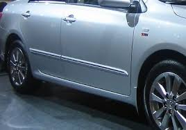 for toyota corolla altis 2009 2016 door body side molding trim 040