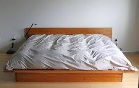 Flat Platform Bed Solid Cherry Lo Modern Platform Bed Boulder Furniture Arts