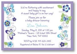 butterfly baby shower invitations template best template collection