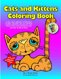 cats kittens coloring book