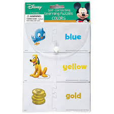 Matching Colors by Mickey Mouse Clubhouse Matching Colors Self Correcting Puzzle