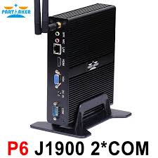 pc bureau avec ssd mini pc with ddr3 ram and msata ssd 1 lan 5 usb 2 com