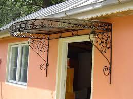 tettoia in ferro battuto pensiline in ferro battuto lightline