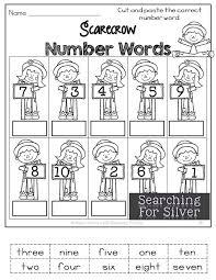 best 25 number words ideas on pinterest kindergarten math