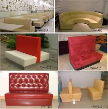 quality modern restaurant booth sofa and table furniture thh 015