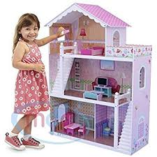 49 Best Images About Dollhouse by Mcc Wooden Kids Doll House With Furniture U0026 Staircase Fits Barbie