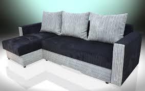 Chaise Corner Sofa Universal Chaise Corner Sofa Bed Bristol Soft Cord Fabric All Colours