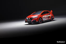 kustoms mini cars the red 2017 tomica honda civic type r
