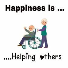 Helping Others Makes You happy   Think Live Be   Positive