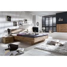 Schlafzimmer Komplett Eiche Rustikal Massives Schwebebett Cielo In Eiche Rustikal Geölt Wendland