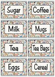 Labels For Kitchen Canisters Labels For Kitchen