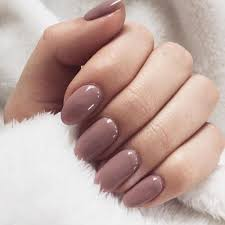 a nice pinkish brown of gel nails nail ideas pinterest