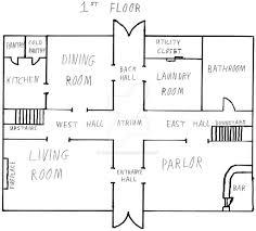 narusaku family house floorplan floor 1 by thesaiyanjedi on deviantart
