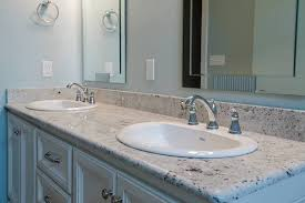 One Piece Bathroom Vanity Tops by How To Replace A Bathroom Countertop Homeadvisor