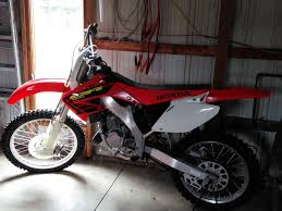 2002 honda cr125 2 stroke dirt bike in okeley u0027s garage sale in