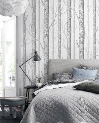 home interior interior birch trees wallpaper piterest design