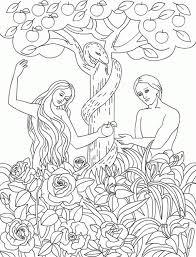 coloring pages adam and eve serpent eden u003e u003e u003e the serpent temp adam and eve to eat forbidden