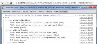 Toaster Exe Application Error Unit Testing Your Web Application Through Intern Part 2 Mobile