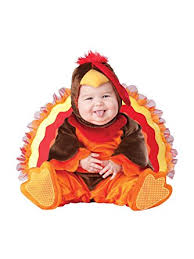 incharacter baby lil gobbler turkey costume clothing