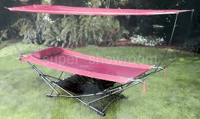 hammock with canopy and stand