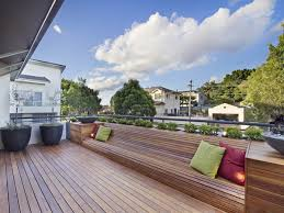 rags to riches chiswick roof terrace garden design with decking