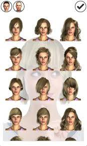 haircut styleing booth magic mirror demo hair styler android apps on google play