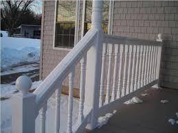 vinyl porch railing u2014 jbeedesigns outdoor decorative vinyl porch