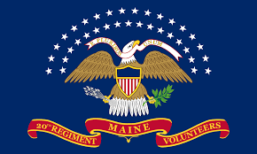 Michigans Flag 20th Maine Volunteer Infantry Regiment Wikipedia
