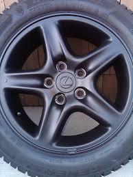 lexus rx300 winter tires diy matte black emblems plastidip no emblem removal required