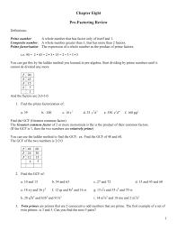Factoring X2 Bx C Worksheet Alg I Factoring Mrs Gore U0027s Website