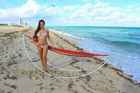 folding beach hammock portable foldable hammock for beach and