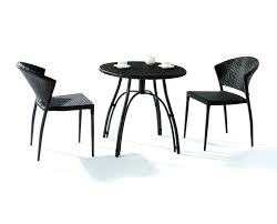 Black Iron Outdoor Furniture by Small Patio Table Set U2013 Smashingplates Us