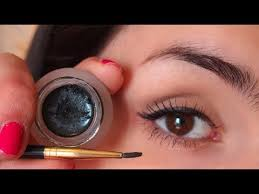 how to apply gel eyeliner brushes tips and more youtube