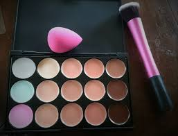 aliexpress concealer palette boozyshop brush and bh cosmetics