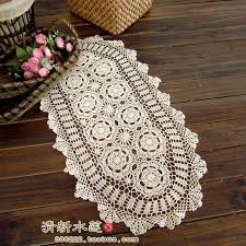tablecloth for coffee table 2014 new design french style needle crochet table cloth coffee table