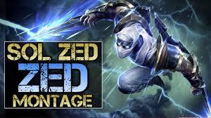 sol zed montage best zed plays