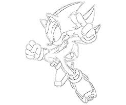 sonic and shadow coloring pages sonic generations shadow the hedgehog skill surfing