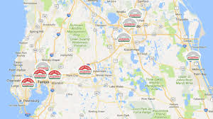 Lake Wales Florida Map by You Can Plan An Entire Road Trip Around The Krispy Kreme Light