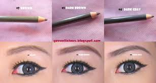 How To Pencil In Eyebrows Yoveelicious Etude Easy Brow Pencil Review And Swatches