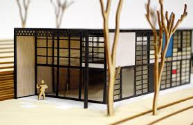 Eames Room Divider Model Of The Eames House On Behance
