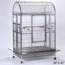 Home Decor Bird Cages Home Decor Bird Cage Featherland Folding Stainless Steel 28 Cool