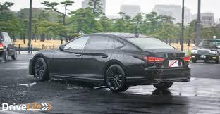 lexus ls interior 2018 2018 lexus ls500 spotted in tokyo drive life drive life