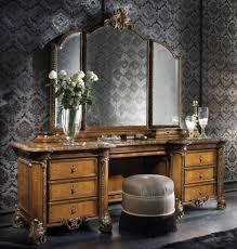 Bedroom Vanities With Mirrors by Bedroom Gorgeous Artistic Bedroom Vanity Dresser Using Brown Teak