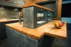 ilot cuisine bois ilot central cuisine en bois cuisine en image