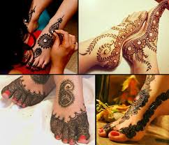 8 dulhan mehndi designs for legs