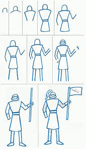 easy knight to draw art class ideas art project sites
