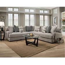 Sectional Sofa With Ottoman 808 Barton Stationary Sectional Franklin Furniture Product
