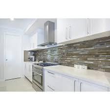 metal wall tiles kitchen backsplash shop aluminum beige mixed material glass and metal mosaic wall