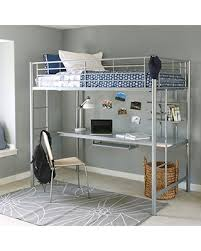 new shopping special walker edison twin metal loft bed with
