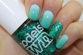 copycat claws blue color block nail art nail art color blue best